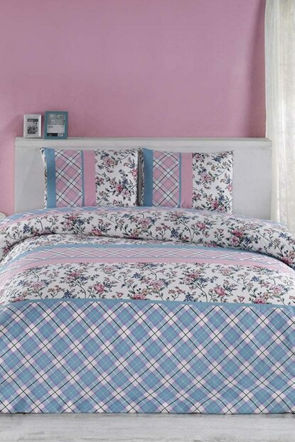 Double Duvet Cover Daily Ranforce; Dolcıa 13929
