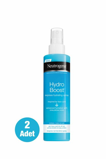 Hydro Boost Express Moisturizing Spray 200 Ml X2 35746613914342