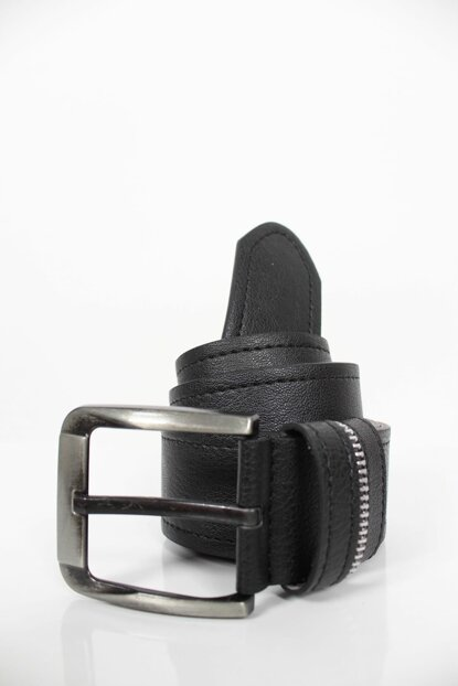 Clk 077 Artificial Leather Belt 4 Cm Width-963363