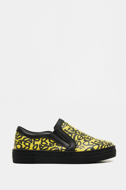 Women's Yellow Shoes 8KAL21005AA