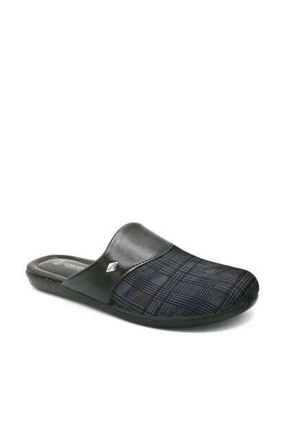 Black Men's House Slippers NM12311925