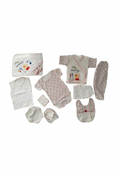 Red Baby Girl 11 Pieces Hospital Outlet FYZM1176