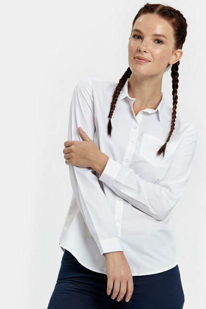 Young Girl White Shirt 7KJ279Z8