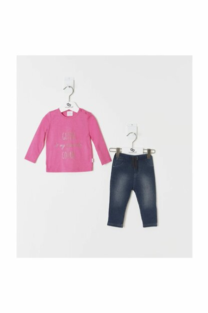 Pink Girl Baby Girl Set of 2 WK19AW1013