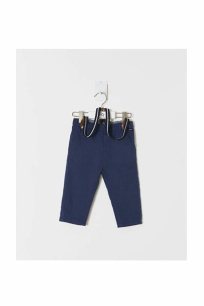 Navy Blue Baby Boy Pants WK19AW1125