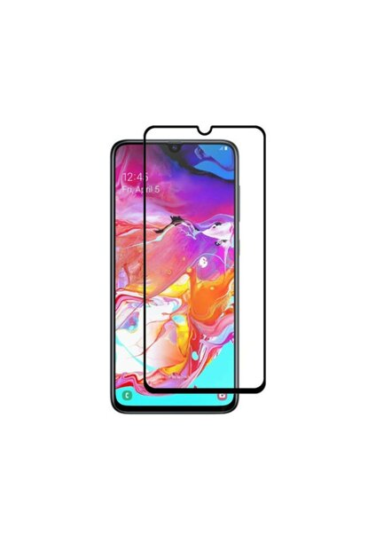 Galaxy A70 Curved Full Covering 9D Screen Protector Film A70-9D-BLACK