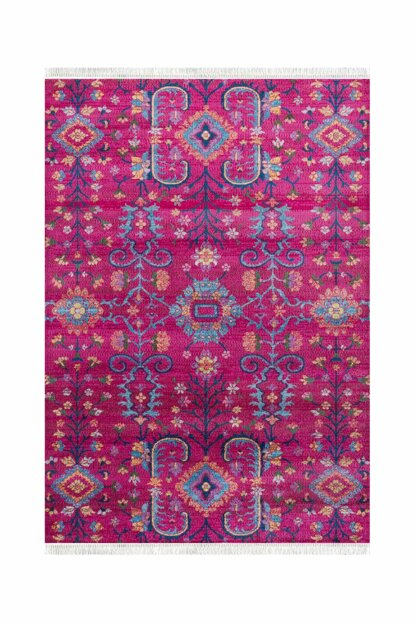 V211 Vintage Decorative Washable Carpet