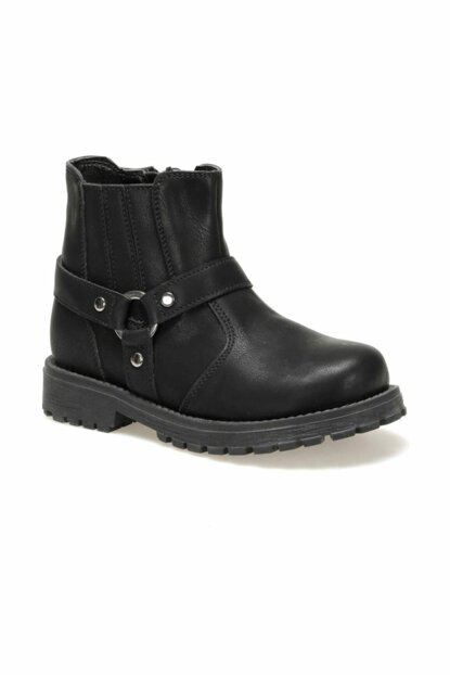 DUBOISI.19W Black Boots for Boys 000000000100414592