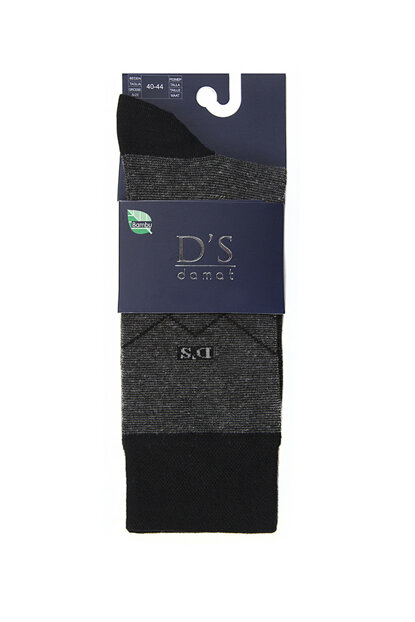 Men's Black Socks - Ds 608.003 DS 608.003