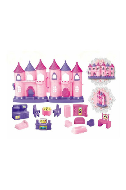 Toy Doll House Castle In The Illuminated Voice Box ERKVV05.686