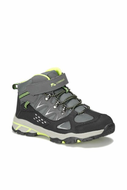 GRAY Boys OUTDOOR Shoes KANSAS 9PR