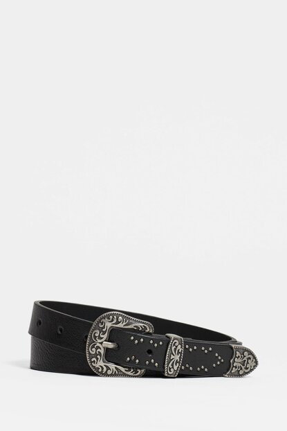 Women's Western Black Belt 194900-27062