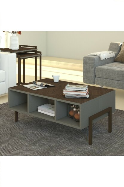 Linea Coffee Table With Iron Leg 8681529323935