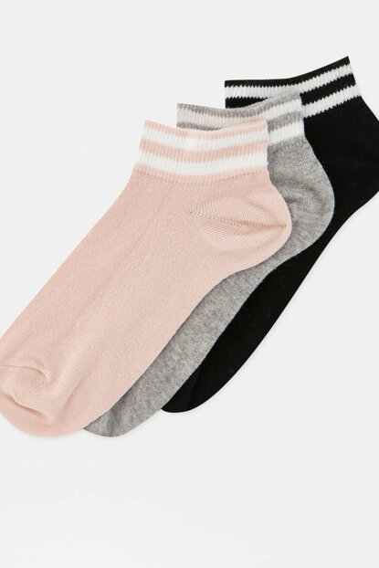Women's 3 Wrist Sport Socks Pack 09893307