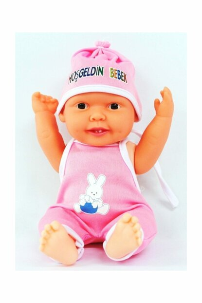 Welcome Baby in Pink Dress 8681695100453