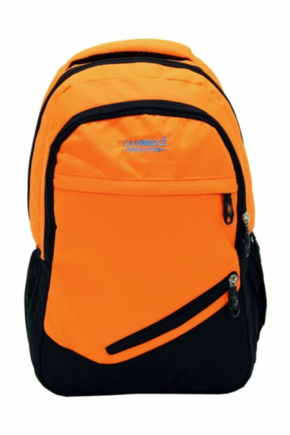 Orange Unisex Backpack Plcan1702.018 PLCAN1702.018