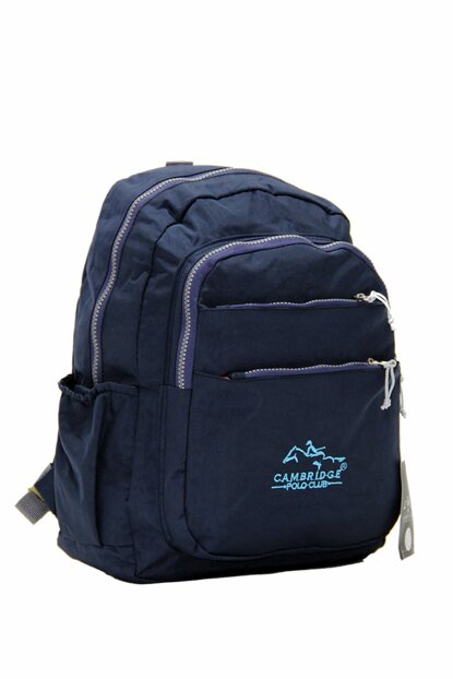Navy Blue Unisex Backpack Plcan1679 PLCAN1679