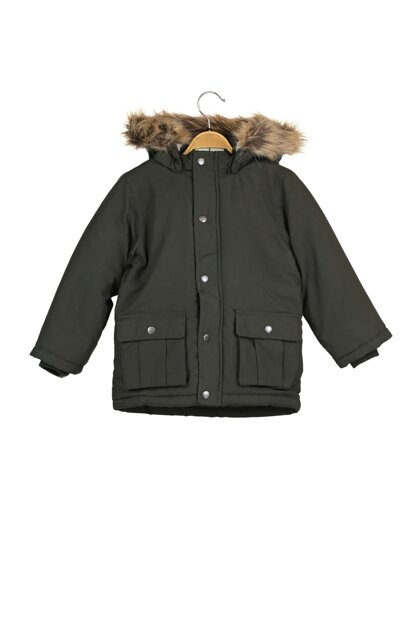 Khaki Unisex Children's Coat 13167910