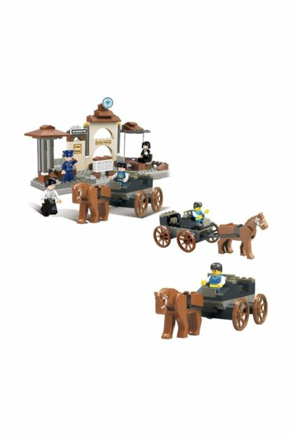 Train Waiting Room 175 Pieces / 1016000027000