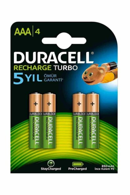 Duracell Rechargeable AAA Fine Pen with 4 T4142