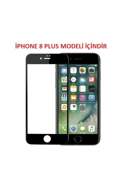 Curved Full Cover 9D Screen Protector Film for iPhone 8 Plus i8P-9D