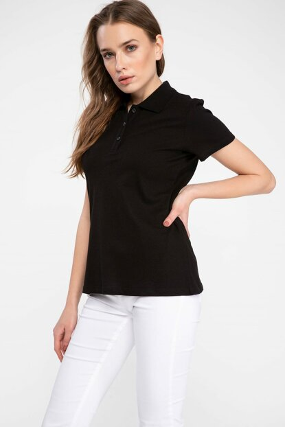 Women's Basic Polo T-shirt I1078AZ.19SP.BK27