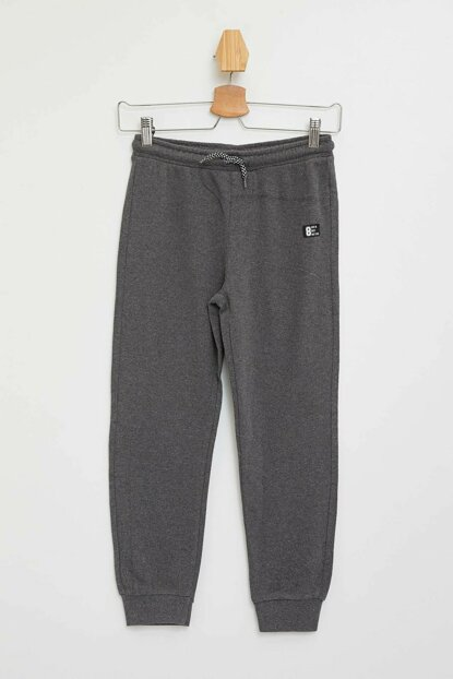 Anthracite Boy Slim Fit Knitted Jogger Pants K8846A6.19AU.AR102