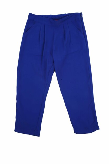 Blue Unisex Children Trousers 91Z4FBL04