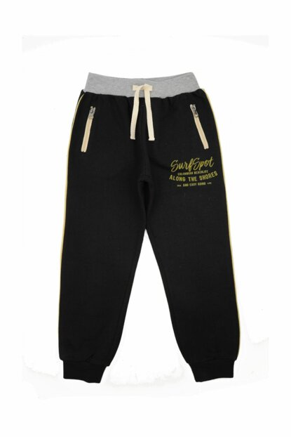 Black Unisex Children Trousers 91Z3BNA08
