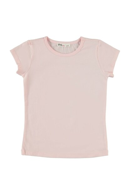 Pink T-Shirt For Girls 190430092Y91
