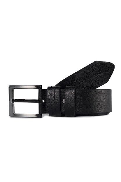 Men's Black Jeans Belt (02 SS) BD00264