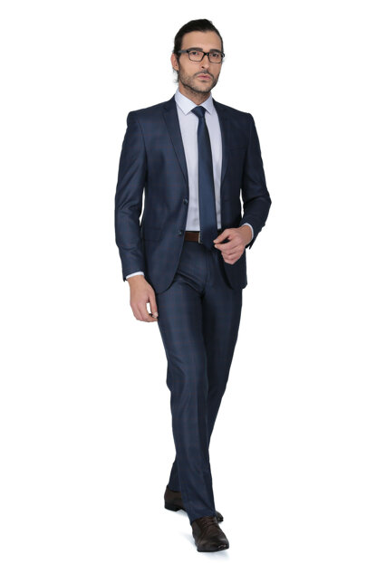 Men's Luciano Slim Fit Mono Tk Yrt Suit -3B7M0444D078