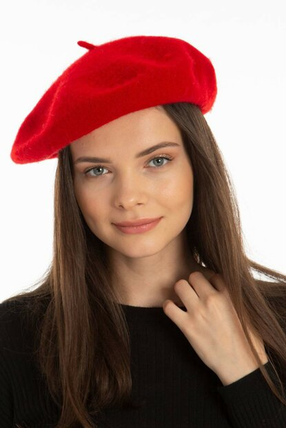 French Model Painter Beret Red VG-1009