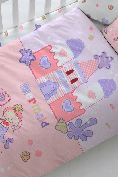 Baby Bedding Set Mermaid Salmon 8696048543894