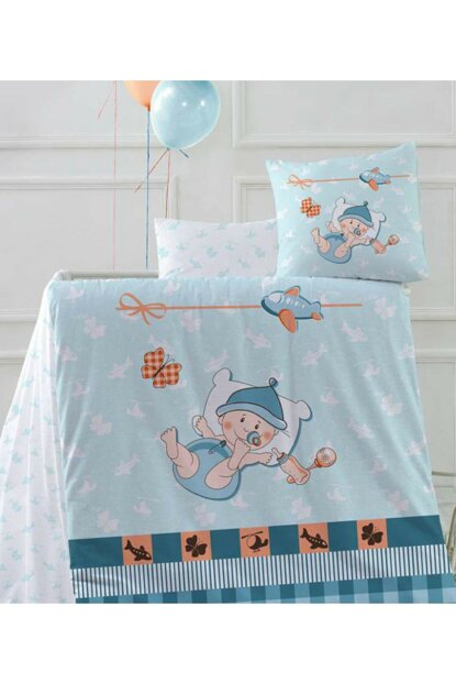 Baby Bedding Set Hug Me Blue 8696048543832