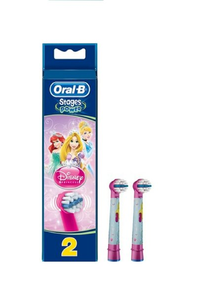 Toothbrush Replacement Head Stages Princess Children 2'Li 4210201746263-2