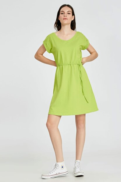 Women's Lemon Green Ew3 Dress 9S9350Z8