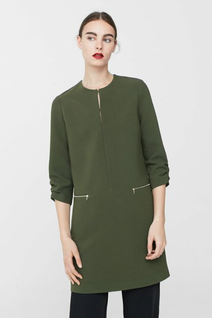 Women's Khaki Dress 81050196