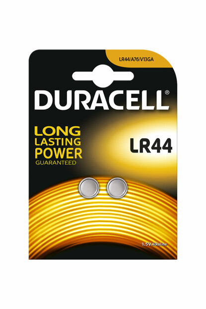 Duracell Lr44 Coin Cell Battery / 5000394504424