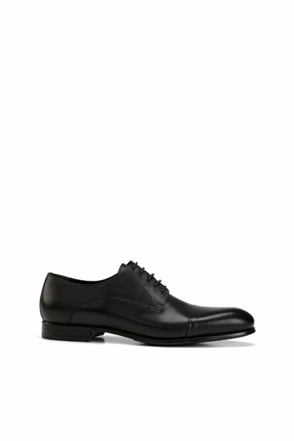 Genuine Leather Black Men Classic Shoes 02AYH138440A100