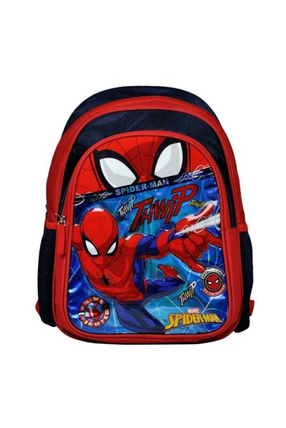 Spiderman Two-Eyed Boy Child Primary School Backpack 8693132966102