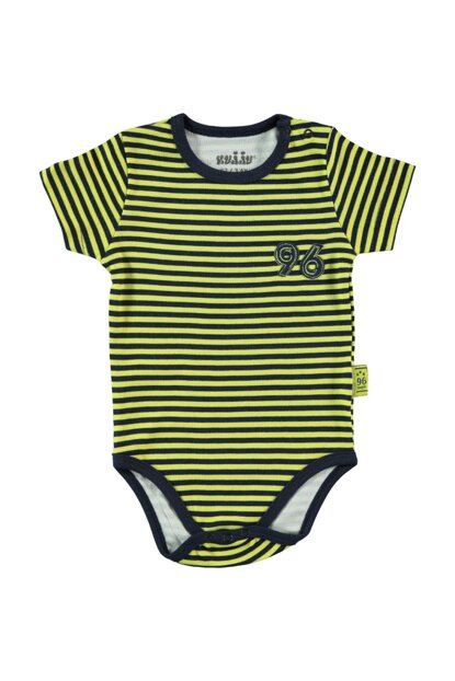 Baby Boy Striped Snappy Badi Navy Blue 145879401SS1