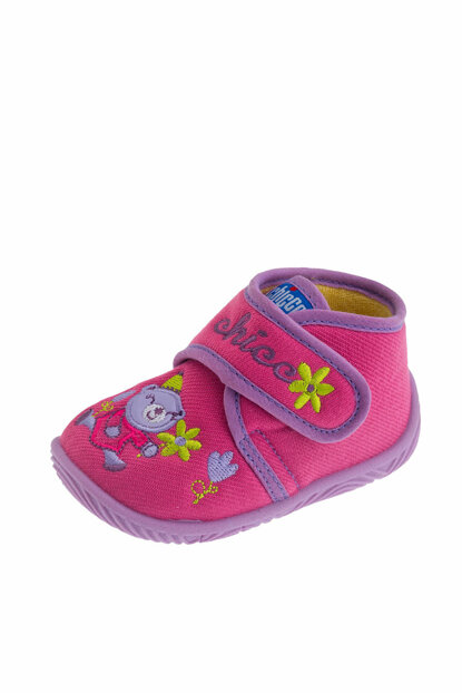 Pink Baby Girl Ankle Boots With Tulips 01056442000000