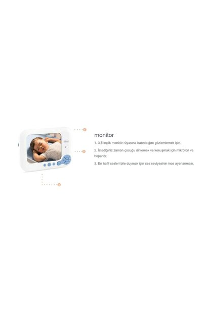 Chicco Video Baby Monitor Deluxe