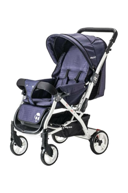 Bc-60 Dinamico Double Way Baby Stroller Navy Blue 8698943143841