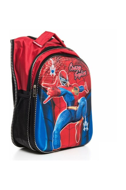 Spiderman School Bag with Nutrition Bag a335