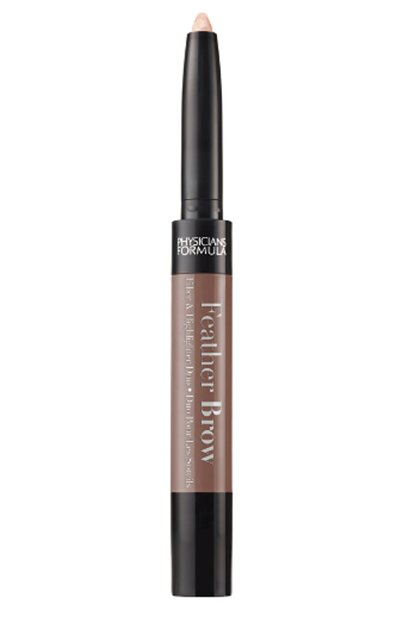 Brow Highlighter & Lightening - Feather Brow Fiber & Highlighter Duo Brunette 044386067851