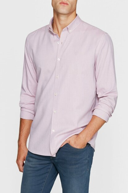 Men's Pink Shirt without Pockets 020033-27079