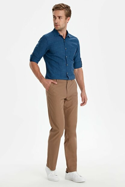 Men's Dark Beige Mx6 Chino Pants 9S5337Z8