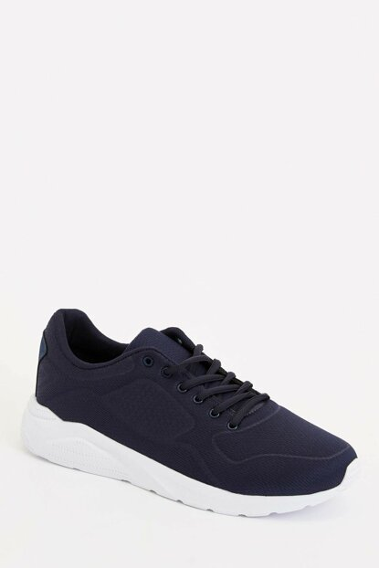Men's Navy Blue Lace-Up Sports Shoes L8685AZ.19AU.NV35